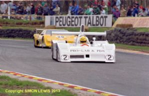 "LOLA T530 (Wilds) & Lotus Esprit (Sugden) Brands Hatch Thundersports April 1987  7x5"" photo"